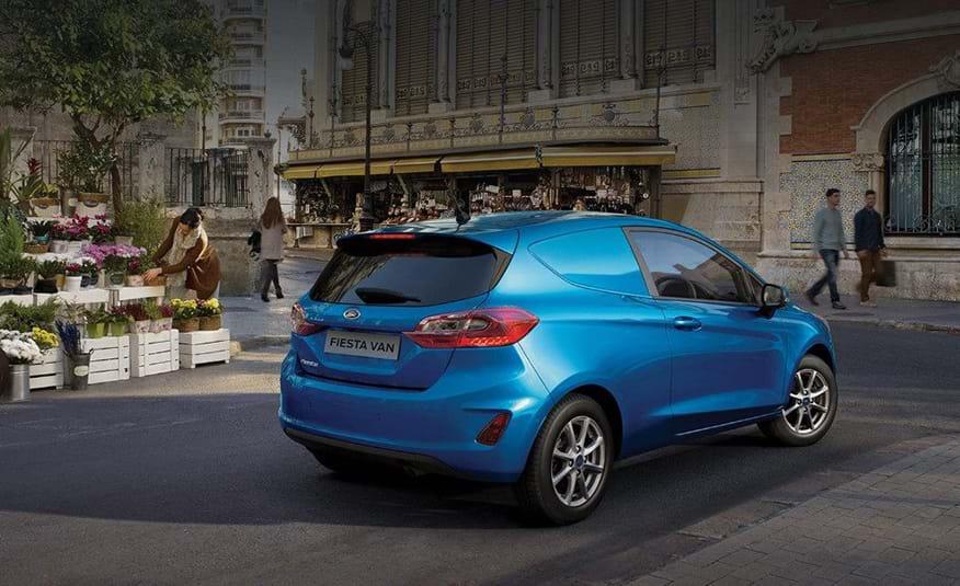 nuova Ford Fiesta Van
