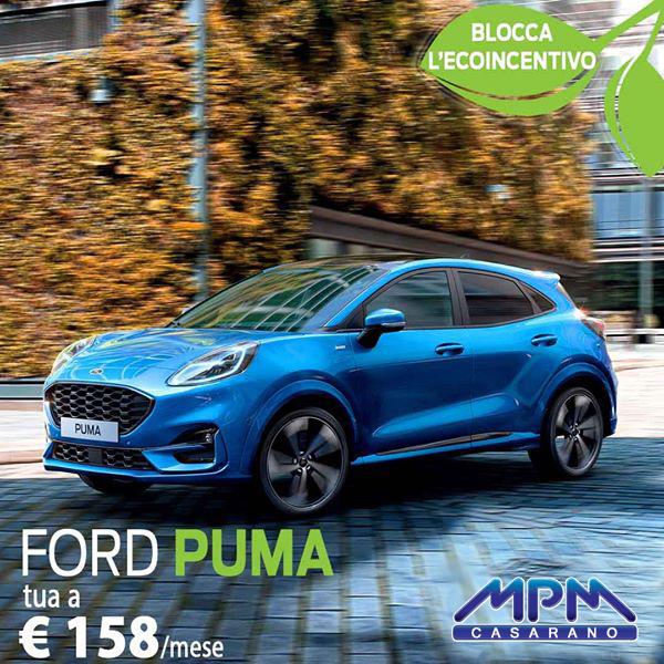 Ford Puma a € 158/mese