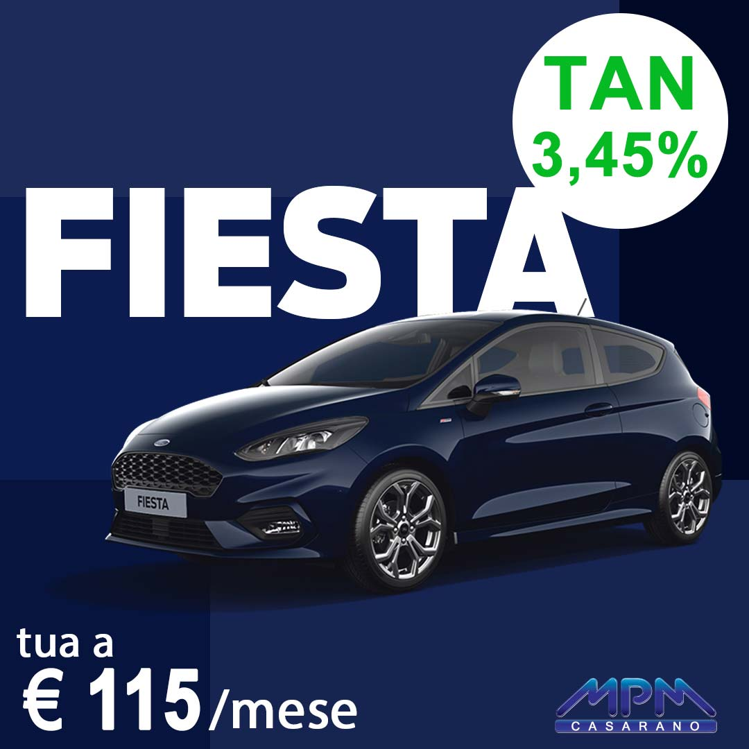 Ford Fiesta a € 110/mese