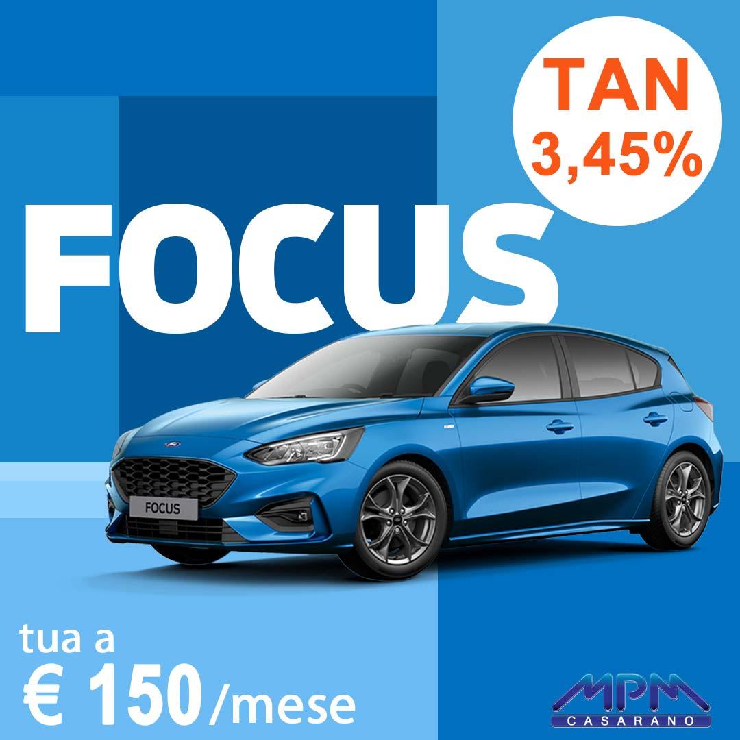 Ford Focus a € 120/mese
