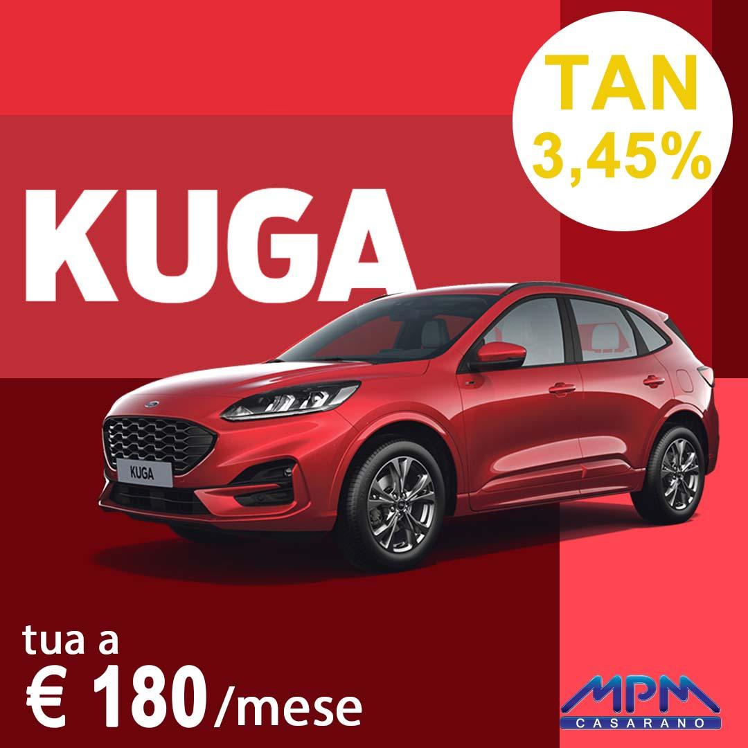 Ford Kuga a € 170/mese