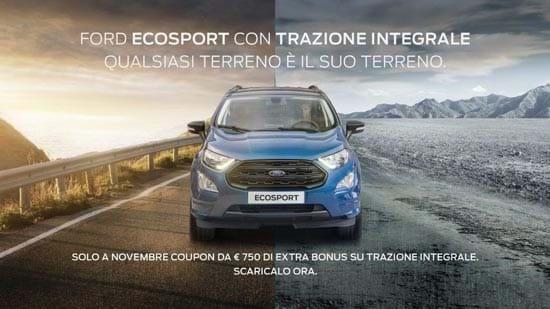 Ford Ecosport Titanium Trazione Integrale