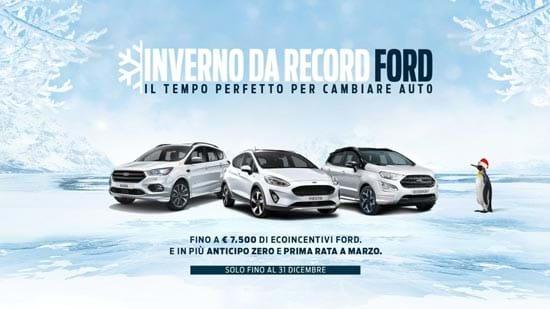 Inverno da record Ford